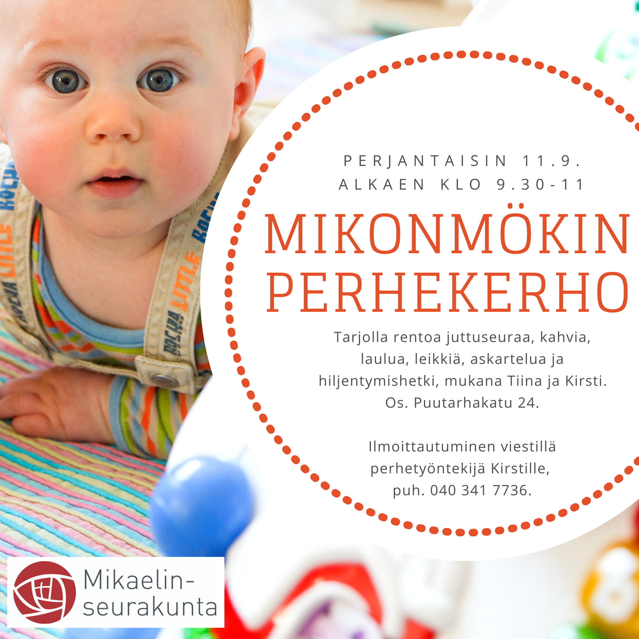 Mikonmökin perhekerho - Turun ja Kaarinan seurakunnat